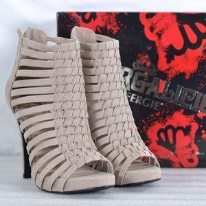 Fergalicious Tinker Stiletto Strappy Heels A22-8B
